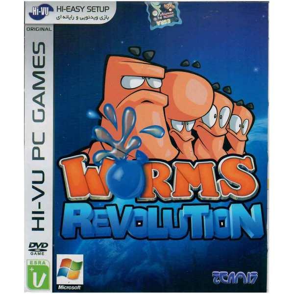بازی Worms Revolution مخصوص PC
