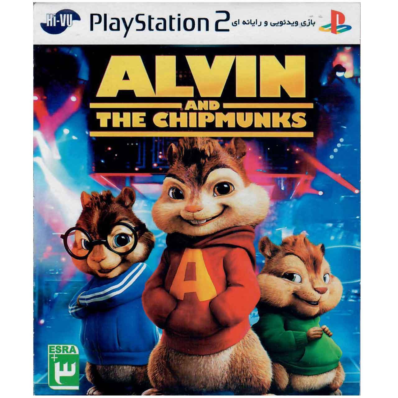 بازی ALVIN And The Chipmunks مخصوص PS2