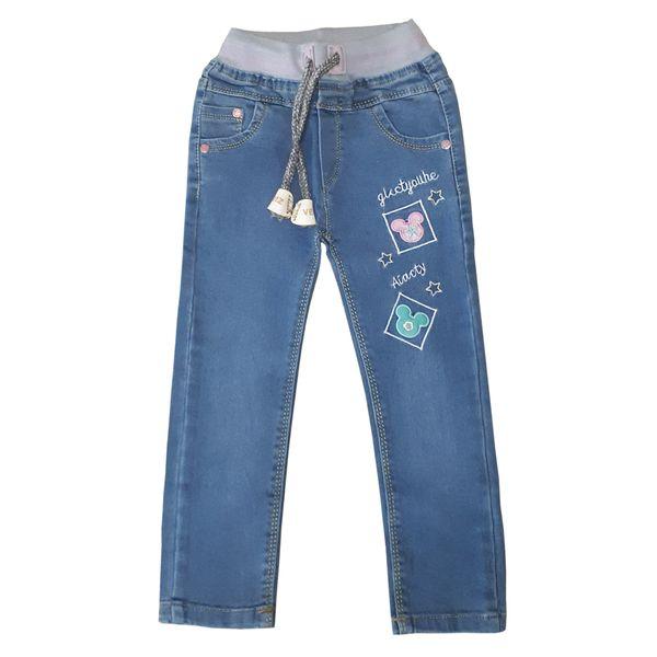 شلوار جین دخترانه مدل D548
