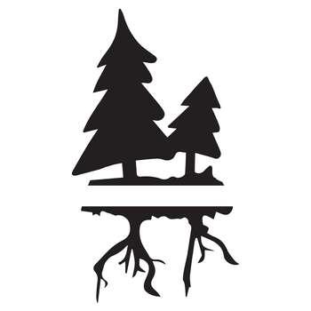 استیکر کلید پریز طرح درخت