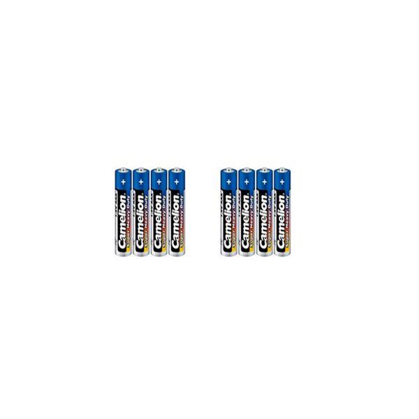 باتری نیم قلمی کملیون مدل Super Heavy Duty بسته 8 عددی |