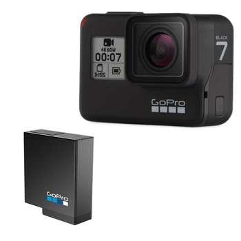 دوربین فیلم برداری ورزشی گوپرو مدل HERO 7 Black به همراه باتری لیتیومی گوپرو