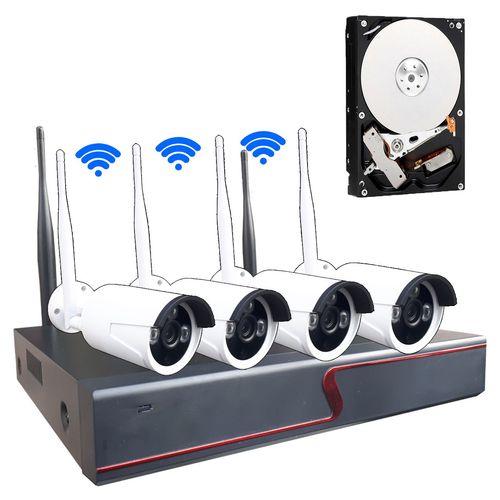 سیستم امنیتی بیسیم مدل wireless NVR Kit