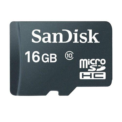 کارت حافظه microSDHC سن دیسک مدل Ultra A1 کلاس 10 استاندارد UHS-I U1 ظرفیت 16 گیگابایت