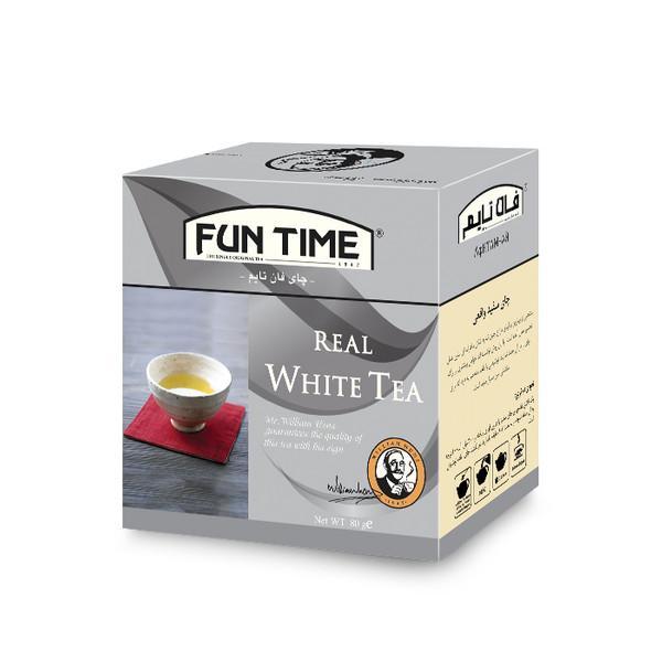 چای فان تایم مدل چای سفید مقدار 80 گرم