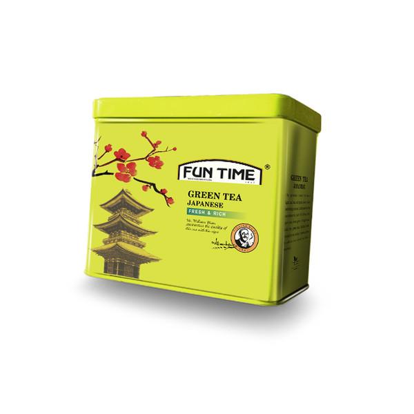 چای سبز فان تایم مدل چای سبز ژاپنی وزن 200 گرم
