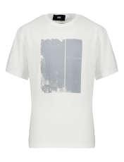 تیشرت آستین کوتاه مردانه گری مدل SEE THROUGH -  - 1