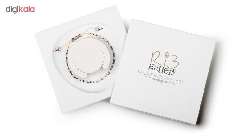 دستبند نقره زنانه ریسه گالری مدل Ri3-H1074S