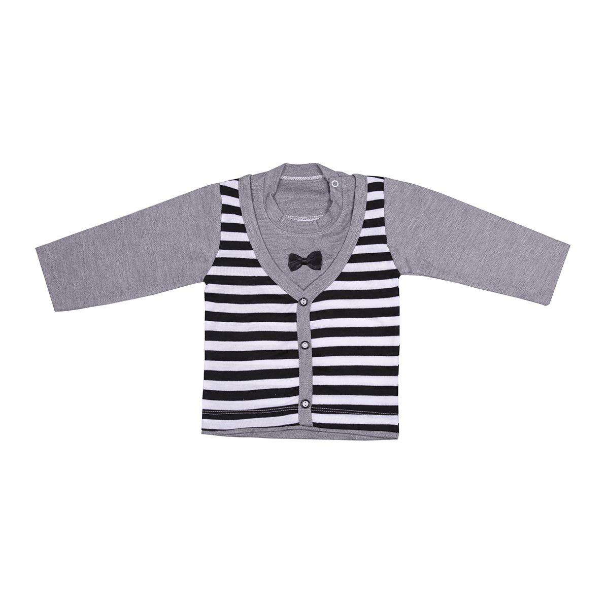 ست تی شرت و شلوار نوزادی کد 507 -  - 4