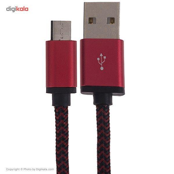 کابل تبدیل USB به microUSB الدینیو مدل LS30 به طول 3 متر main 1 1