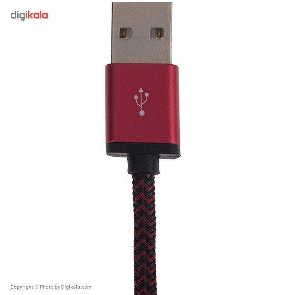 کابل تبدیل USB به microUSB الدینیو مدل LS30 به طول 3 متر main 1 2