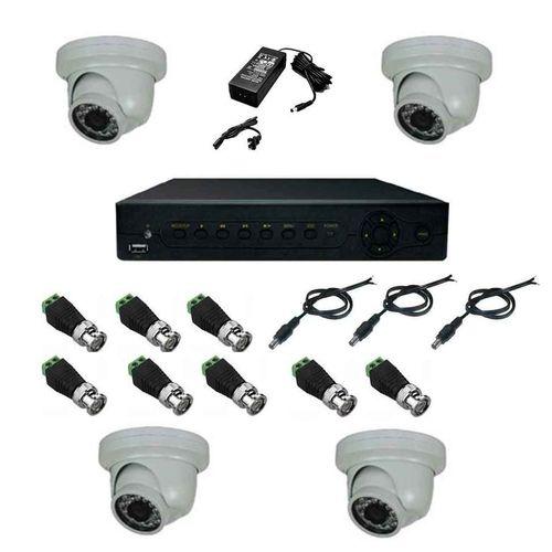 سیستم امنیتی مدار بسته پک 4 دوربین مداربسته سینتکس 4001A