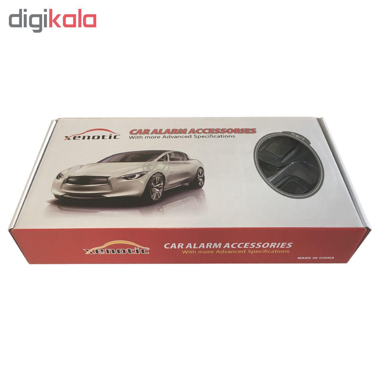 دزدگیر خودرو زنوتیک مدل پی ال سی کد ریموت PLC Car Alarm Xenotic FM-A21 main 1 1