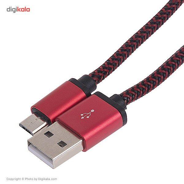 کابل تبدیل USB به microUSB الدینیو مدل LS30 به طول 3 متر main 1 4
