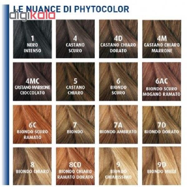 کیت رنگ موی فیتو مدل PHYTO COLOR شماره 5