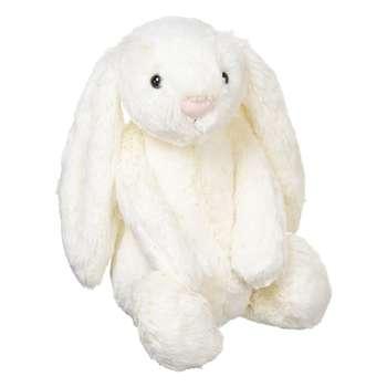 عروسک خرگوش مدل White Jelly Cat ارتفاع 25 سانتی متر