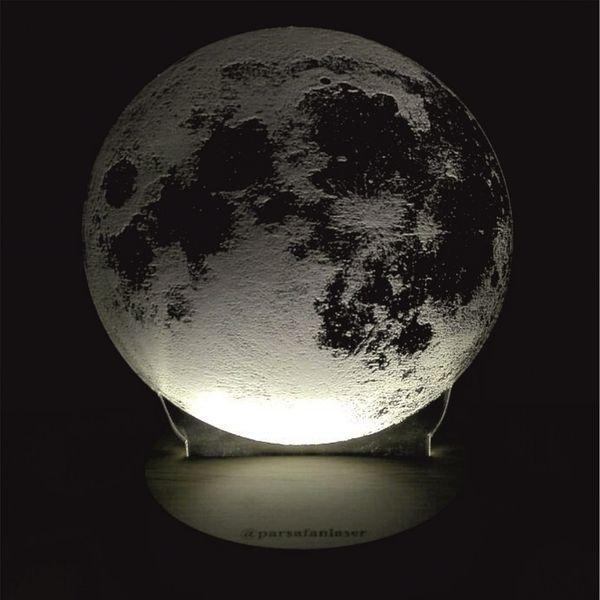 چراغ خواب پارسافن لیزر طرح کره ماه