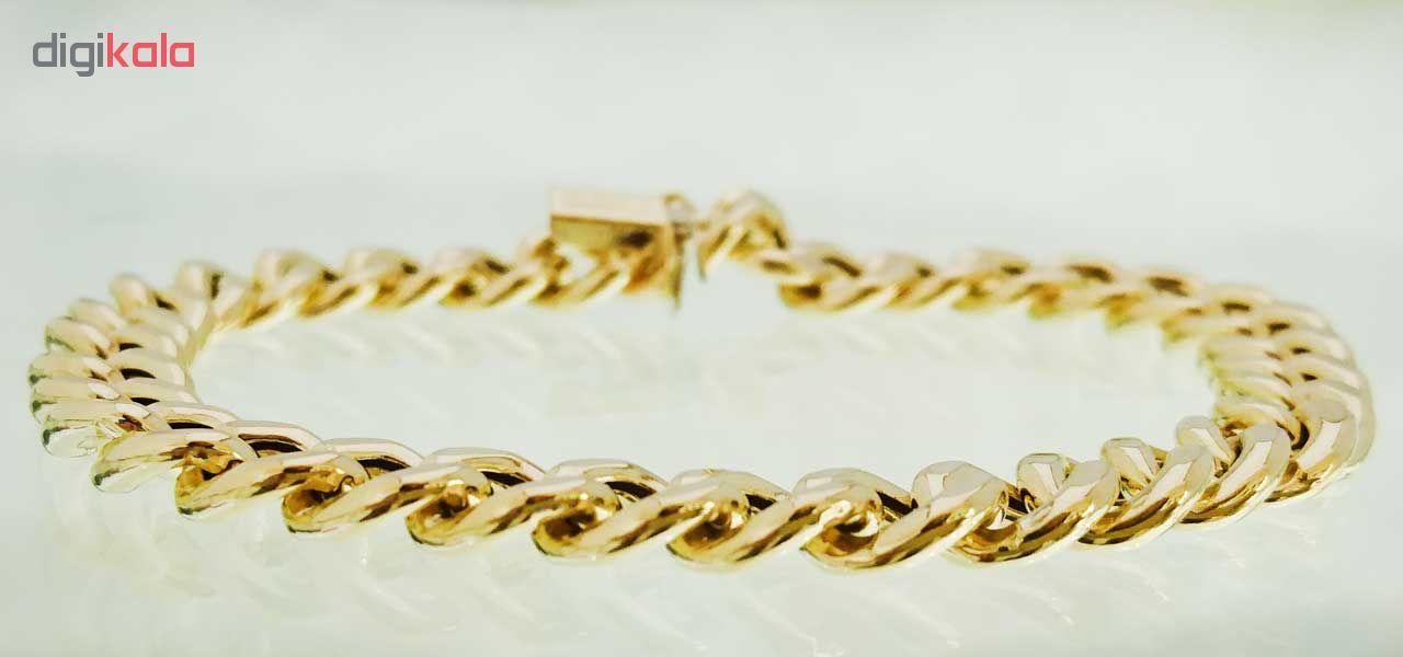 دستبند طلا 18 عیار کانیار گالری مدل M980