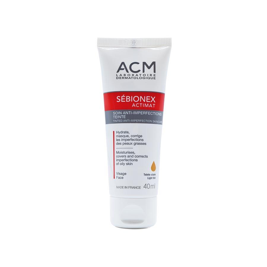 قیمت کرم مرطوب کننده رنگی Acm سری Sebionex Actimat مدل بژ روشن حجم ۴۰ میلی لیتر