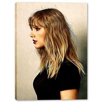 تابلو بوم وی وین آرت طرح Taylor Swift کد 291