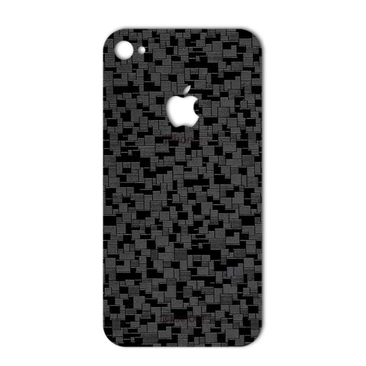 برچسب تزئینی ماهوت مدل Silicon Texture مناسب برای گوشی  iPhone 4s