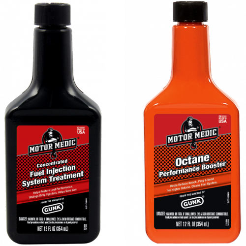 مکمل سوخت و تمیز کننده انژکتور خودرو گانک مدل Octane و M5212 مجموعه 2 عددی