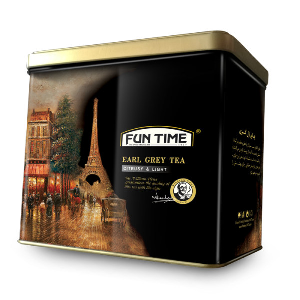 چای ارل گری فان تایم مدل طلا مقدار 500 گرم