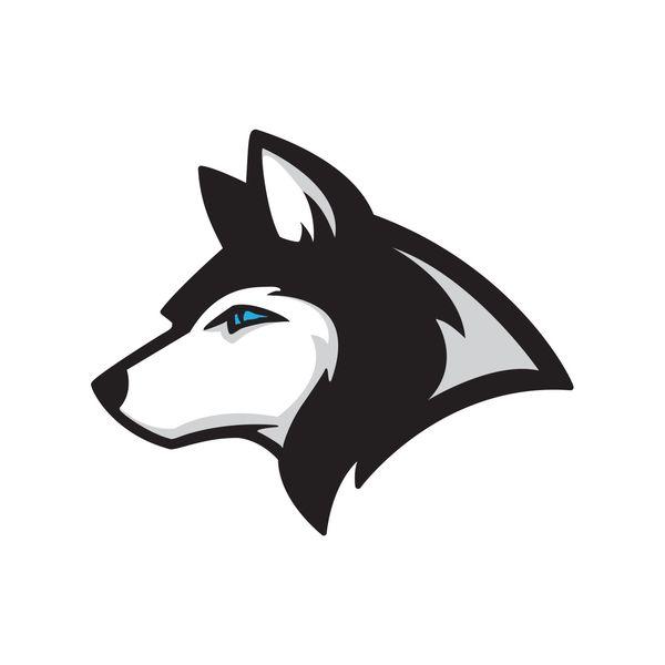 استیکر لپ تاپ گراسیپا طرح Wolf-01