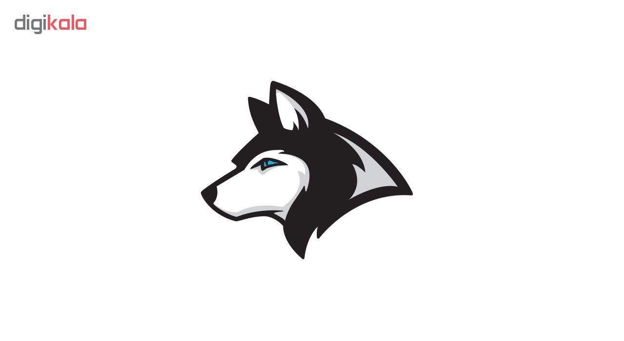 استیکر لپ تاپ گراسیپا طرح Wolf-01 main 1 1