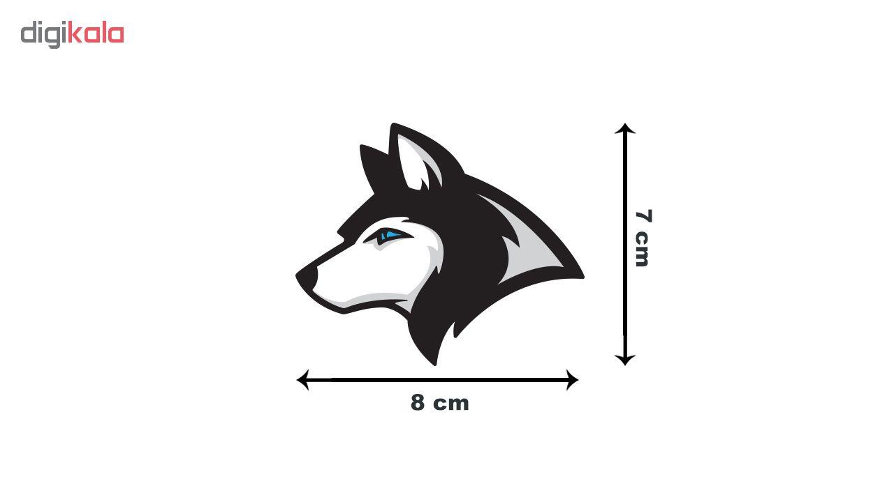 استیکر لپ تاپ گراسیپا طرح Wolf-01 main 1 3
