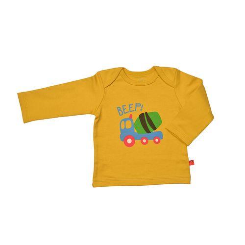 تی شرت آستین بلند نوزادی شابن طرح تراک