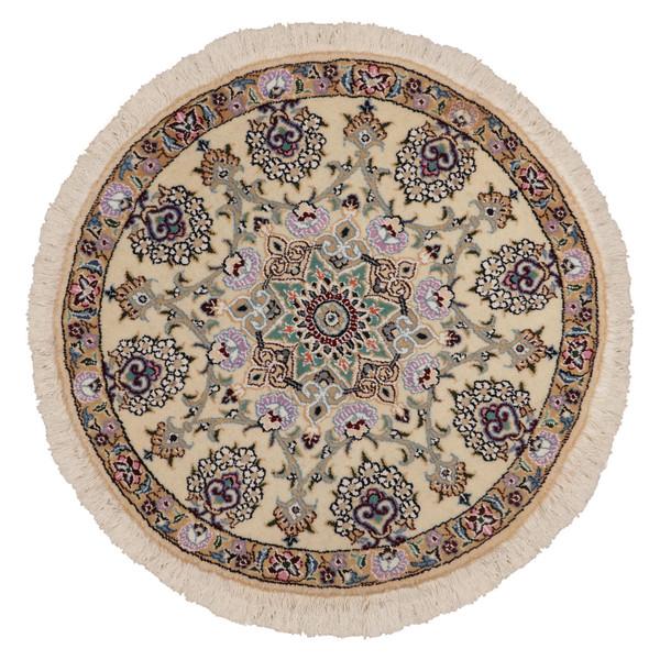 فرش دستبافت نیم متری مدل دایره کد 991063