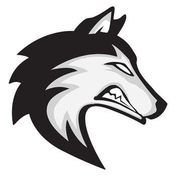 استیکر لپ تاپ گراسیپا  طرح Wolf-02