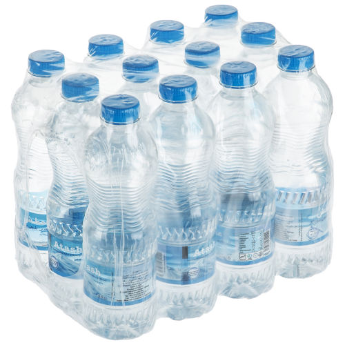 آب معدنی عطش مقدار 0.5 لیتر بسته 12 عددی