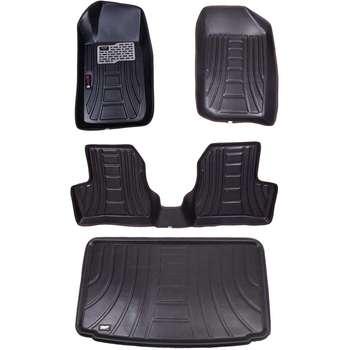 کفپوش سه بعدی خودرو مدل اکو مناسب برای 206 به همراه کفپوش صندوق