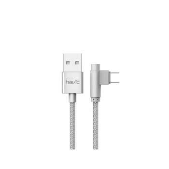 کابل تبدیل USB به microUSB هویت مدل HV-CB8603 طول 1 متر