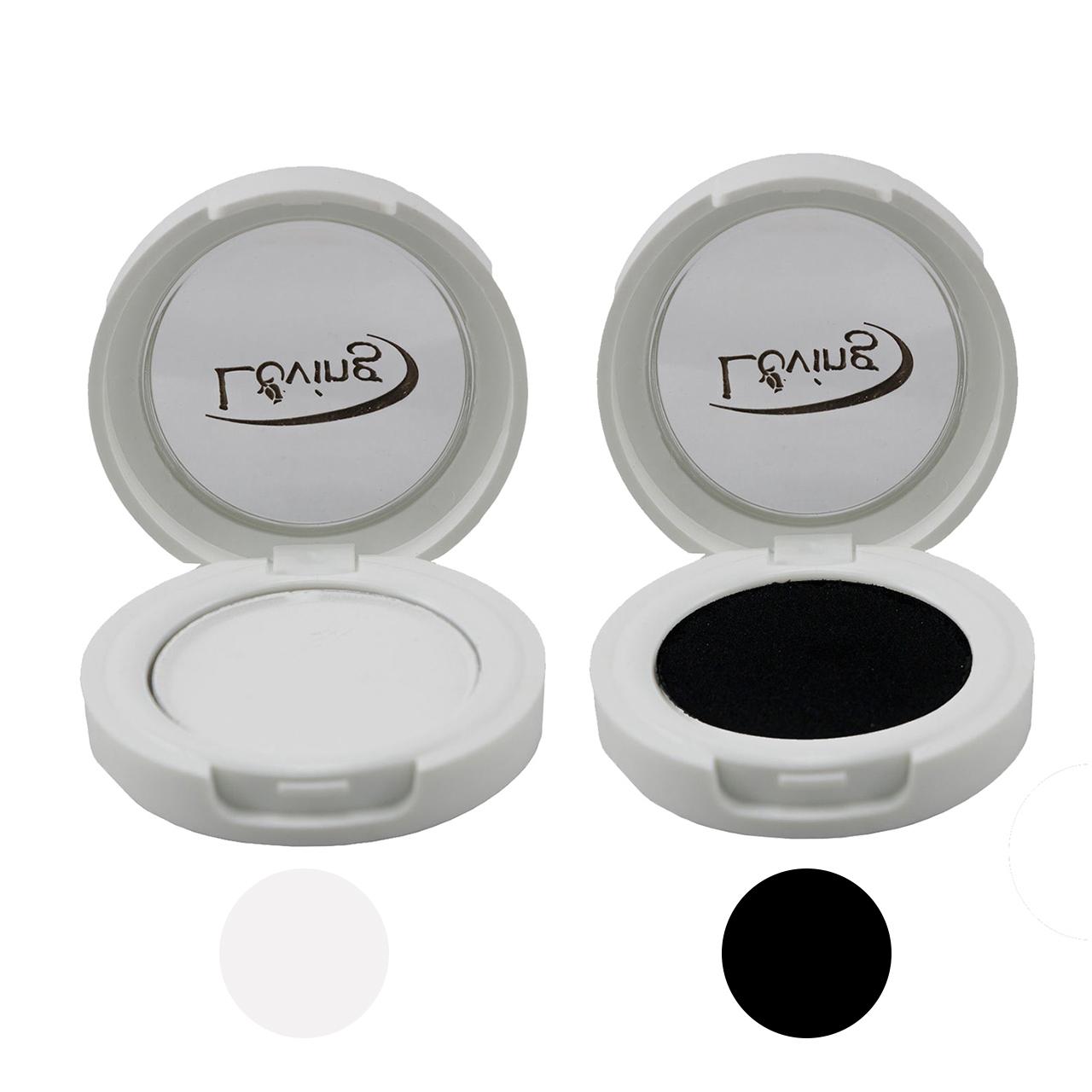 سایه چشم لاوینگ مدل LOV شماره V14 مجموعه 2 عددی