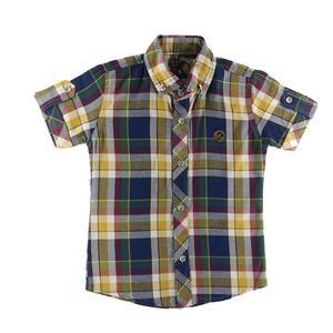 پیراهن پسرانه طرح چهارخانه کد z23