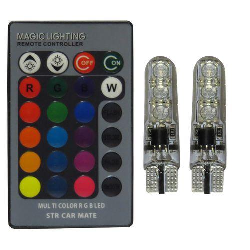 لامپ ال ای دی خودرو اس تی سی او مدل Multi Color RGB