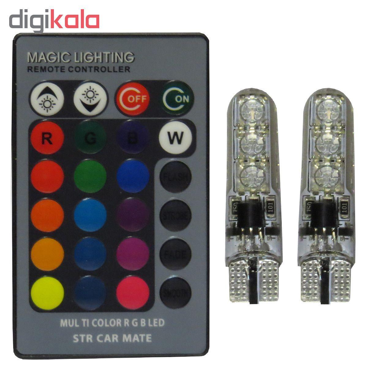 لامپ ال ای دی خودرو اس تی سی او مدل Multi Color RGB main 1 1