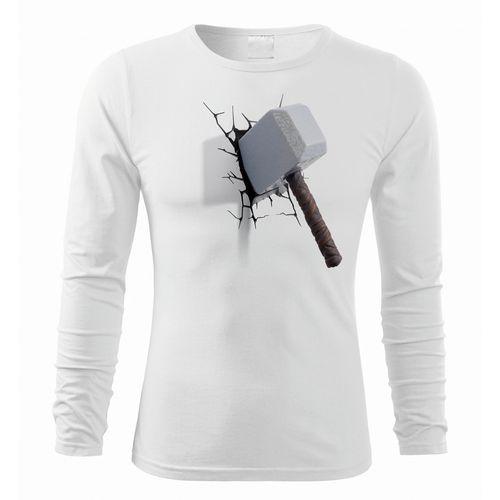 تی شرت استین بلند مردانه طرح تبر کد 78078