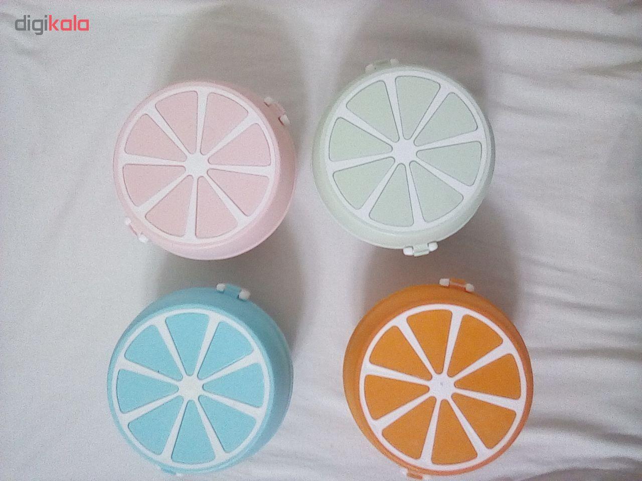 ظرف نگهدارنده سه تکه طرح پرتقال کد 0005 main 1 5