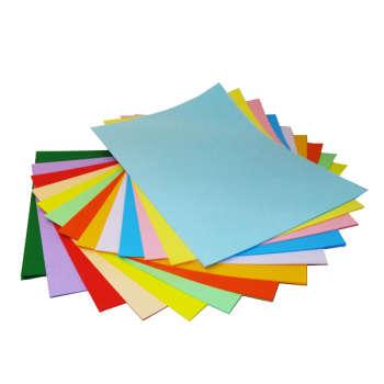 کاغذ رنگی A4 سیتی پیپر 13 رنگ  کد 1013بسته 104 برگی سایز 104 برگ