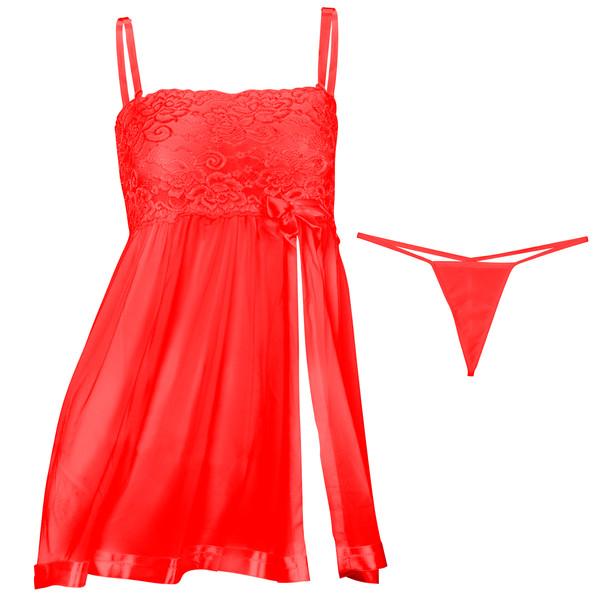 لباس خواب زنانه مدل Red-Prances