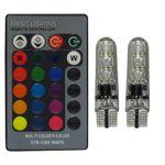 لامپ ال ای دی خودرو اس تی کو مدل کنترل دار Multi Color RGB thumb