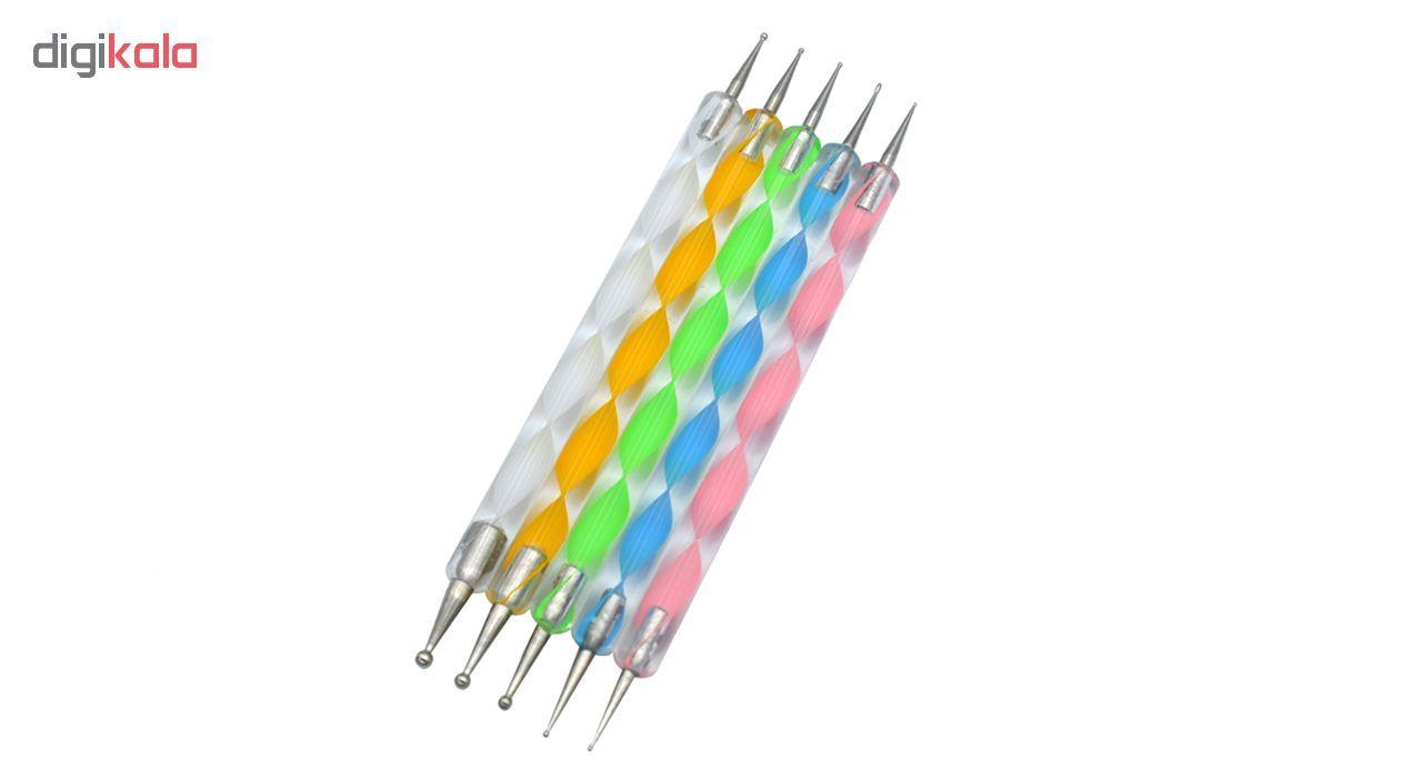 قلم طراحی ناخن مدل داتینگ مجموعه 5 عددی main 1 1