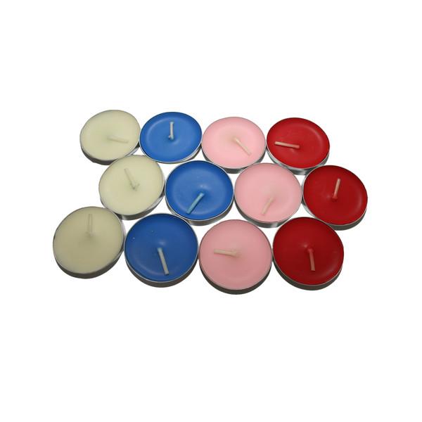 شمع وارمر مدل Colorful بسته 12عددی