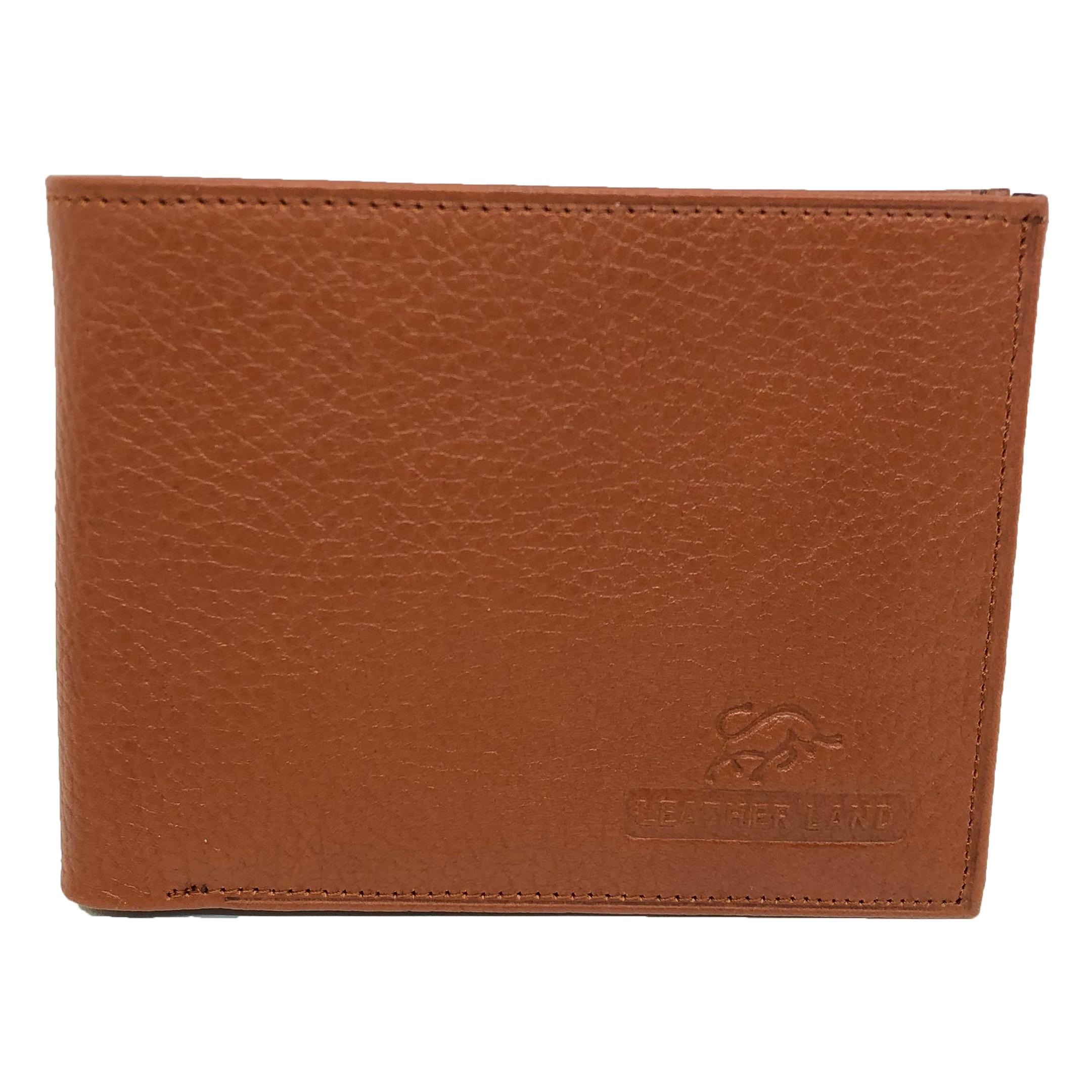 کیف پول مردانه سرزمین چرم مدل 411015