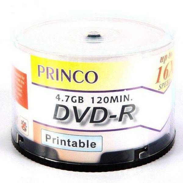دی وی دی خام پرینکو مدل DVD-R بسته 50 عددی |