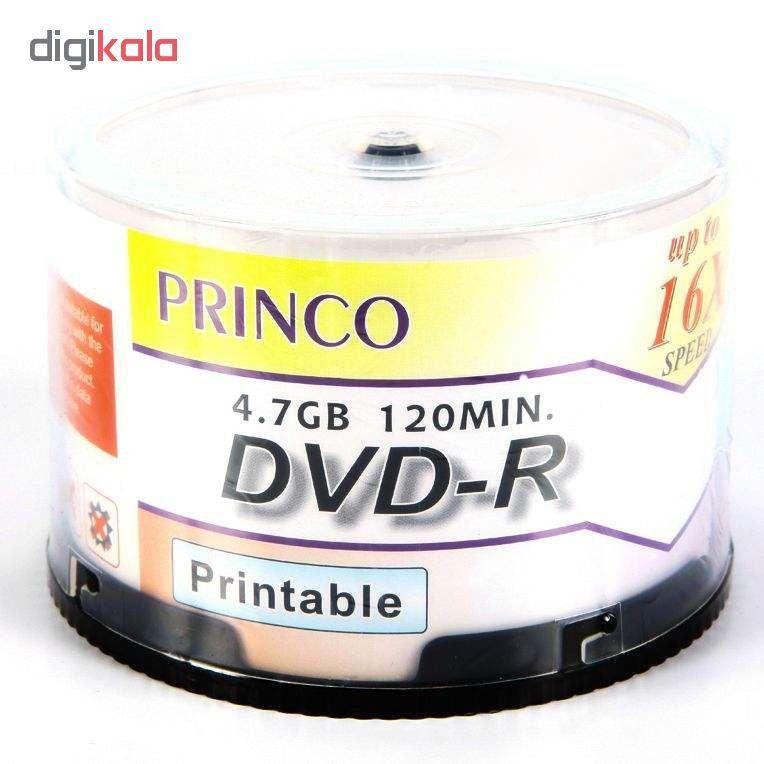 دی وی دی خام پرینکو پرینتیبل مدل DVD-R بسته 50 عددی main 1 1